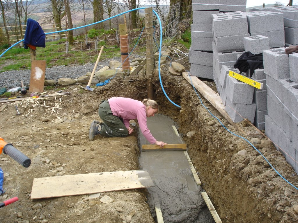 When Were Cement Blocks First Used As Building Foundation
