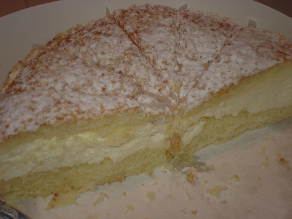Busy Nothings Find An Italian Cream Cake And Eat It Now