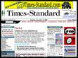 Snapshot: Humboldt County Times-Standard Website