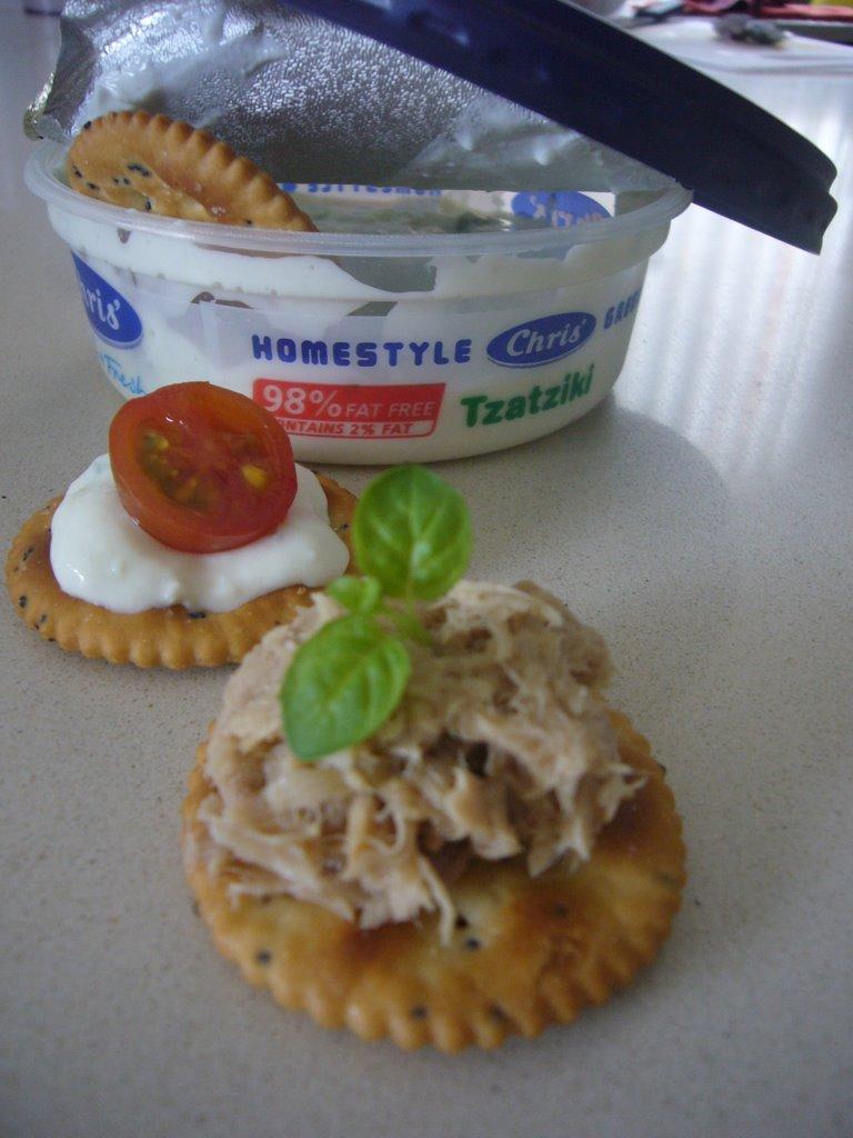 Low Fat Tuna Cakes