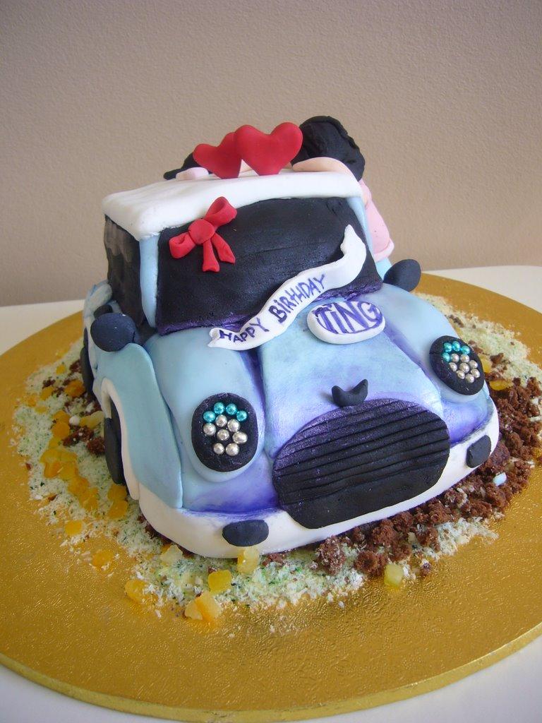 Mini Cooper Cake Topper