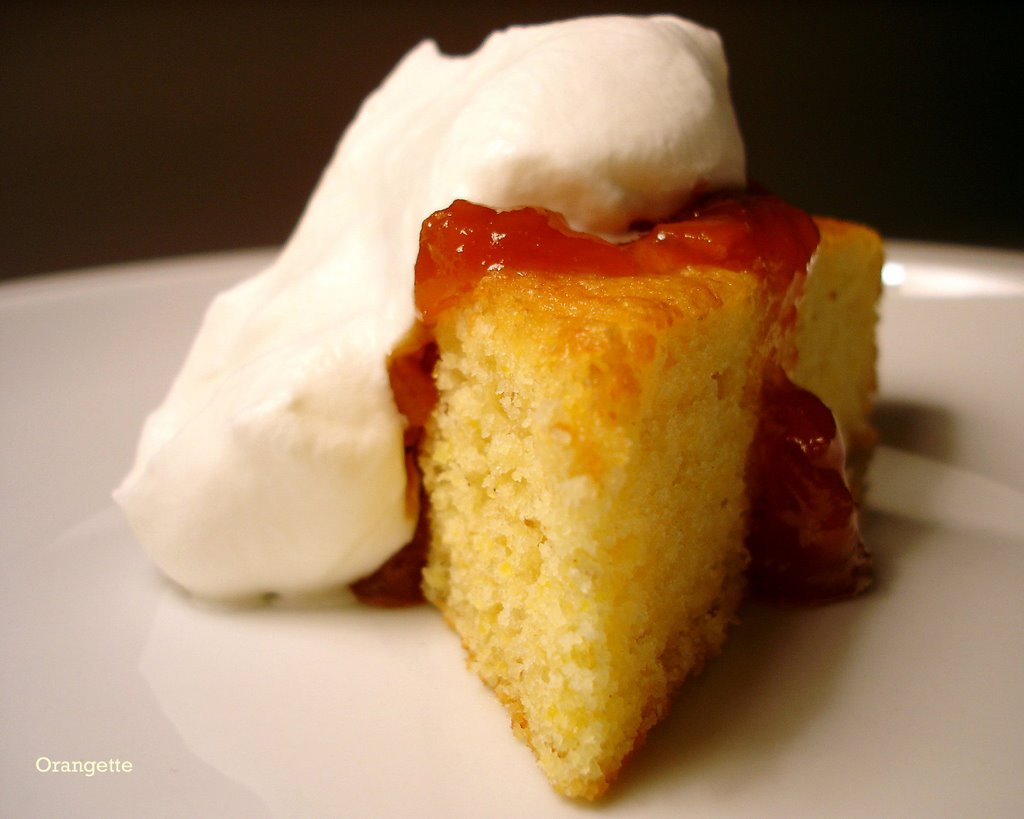... to serve cut the cake into i love olive oil cakes orange cornmeal cake