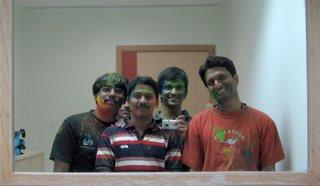 Me, Kundan, Sab & Chaitanya