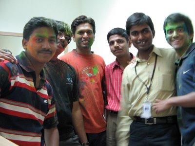 Kundan,Me,Chaitanya,Arun,Vinay Kumar & Sab