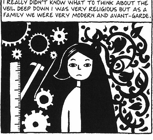 """role of women in the book persepolis Apparently, the task of representation of muslim women in all her different domains like socio-political, religious, economical, and familial invites an in  she illustrates how serious outcomes can be if the """"veiling"""" is not obeyed representation of muslim women in marjane satrapi's """"persepolis."""