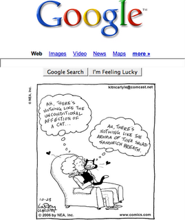 Google with UnitedMedia comics
