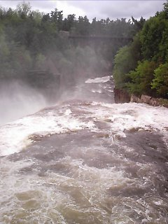 Ausable Chasm high flow
