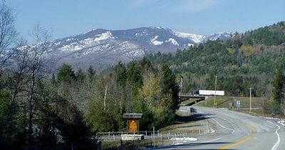On US 9 just east of Exit 30, Lake Placid, Keene Valley