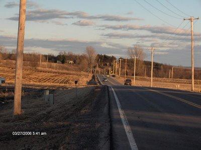 Roling St. Lawrence County farmland near Canton
