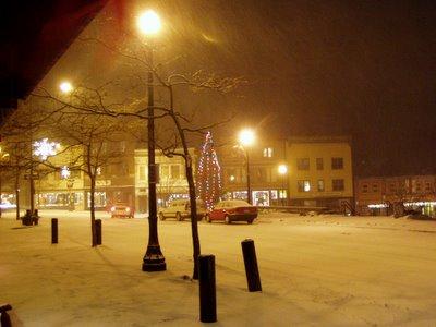 Berkley Square in Saranac Lake