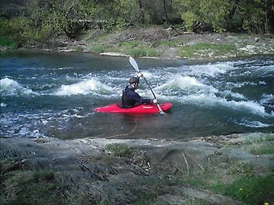 extreme kayak dude