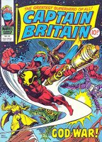 captain britain... it made sense to me... don't ask...
