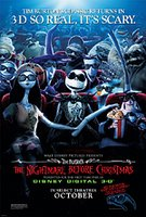 the nightmare before christmas - 3d so real, it's scary