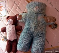 little ted and big ted