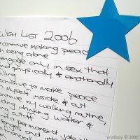 2006 wish list