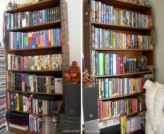 what's on my bookshelves 2006