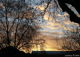 sunrise this morning 2006