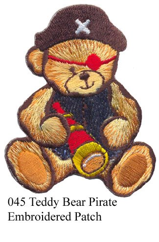 Teddy Bear Border Embroidery Design