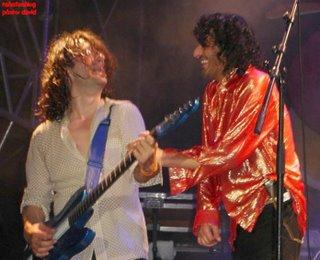 Rachid Taha in Vence 7, with  Noel Delfin, guitar