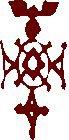 Croix toureg, logo du Festival au Désert