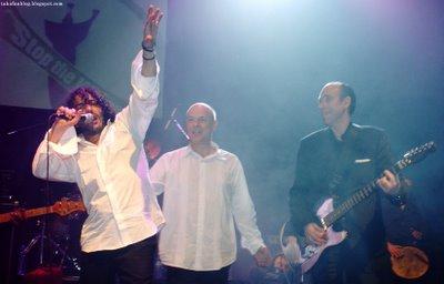 Rachid Taha, Brian Eno, Mick Jones