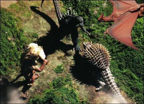 Godzilla Vs Anguirus Rodan And King Caesar godzilla vs anguirus rodan and