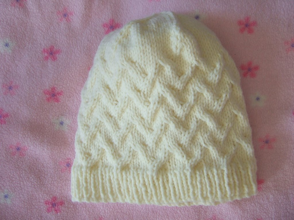 Knitted Chemo Cap Patterns Free : Cap Karma Hat ~ smariek knits