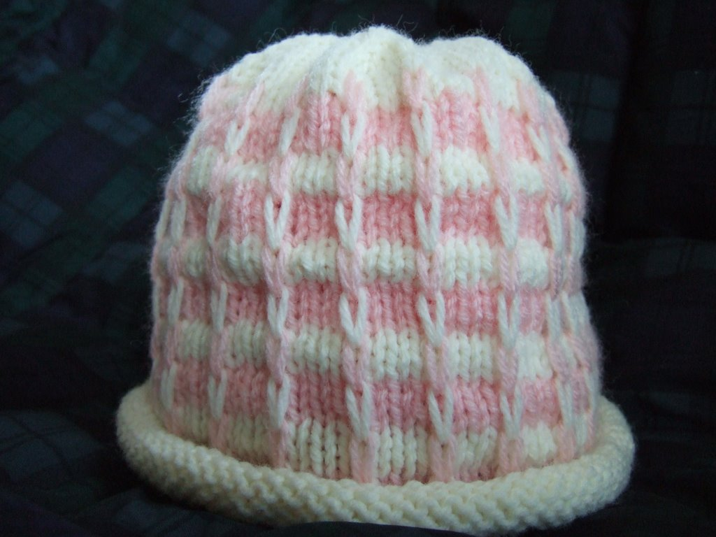 Slip Stitch Knit Hat Pattern : Striped Slip Stitch Hat ~ smariek knits