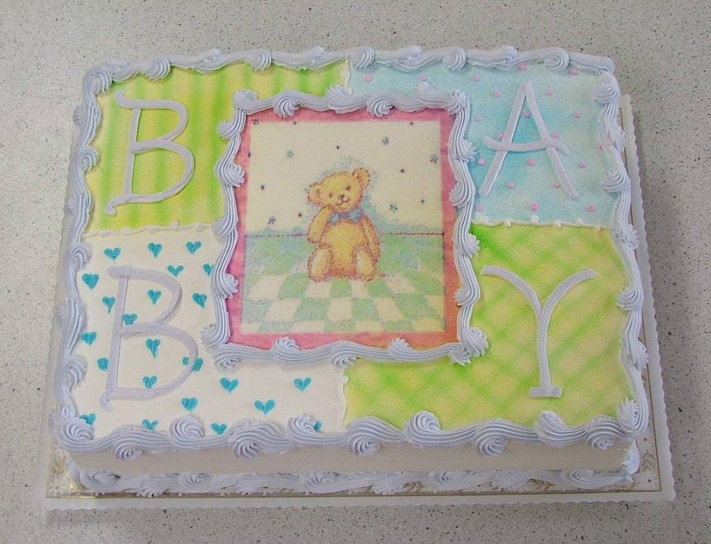 nadines variety baby shower boy or girl colors can be changed