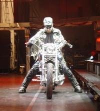 Rob Halford on the Classic Harley