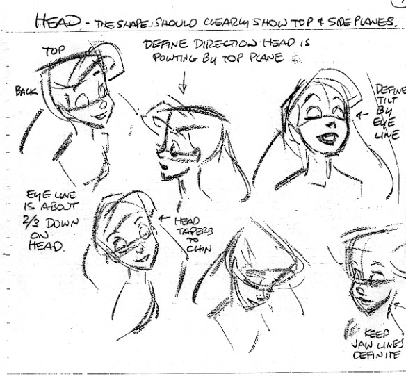 Ariel Sketch Glen Keane Publicado por raul en 10:00 am