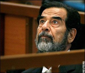 saddam listens to judgement