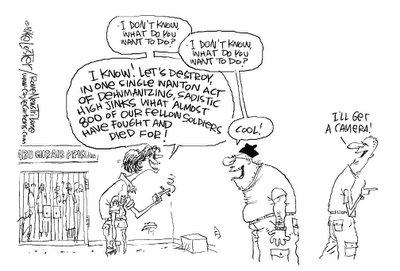 Beheading - Political Cartoon
