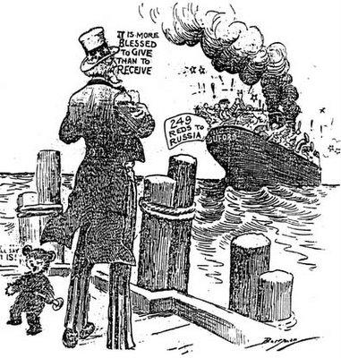 Uncle Sam Bids Good Riddance - Political Cartoons