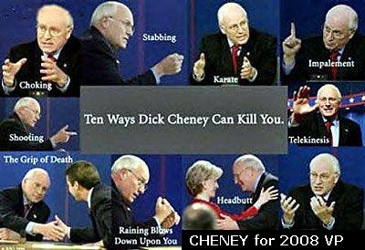 Death by Cheney - Funny Picture