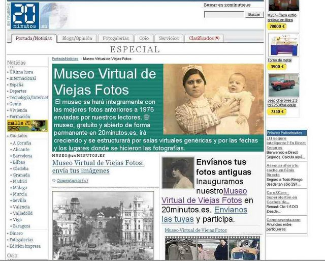 museo virtual de: