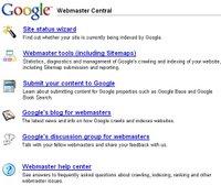 Google Webmaster Central