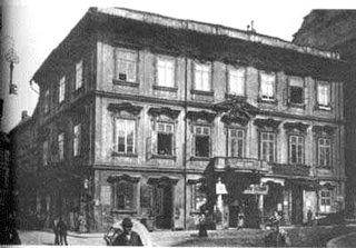 Casa onde Franz Kafka Nasceu