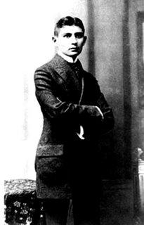 Kafka em sua Graduação em Direito aos 23 anos