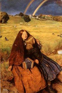 A Menina Cega de J. E. Millais