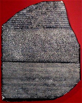 Rosetta Stone ou Pedra Roseta