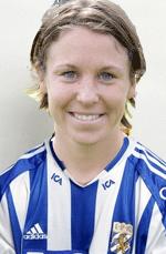 Hanna Ljungberg i IFK Göteborgs tröja