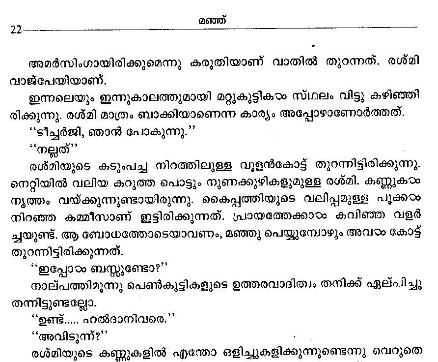 Manju Novel Review Essay - image 6