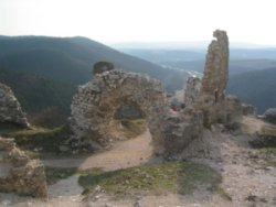 View from the castle ruins