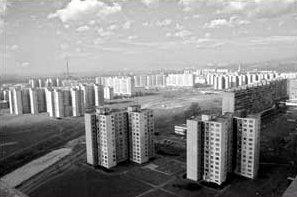 Petrzalka -a suburb of Bratislava- in all its splendour