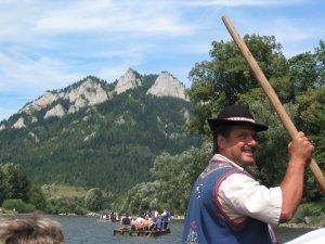 Rafting in the Tatras