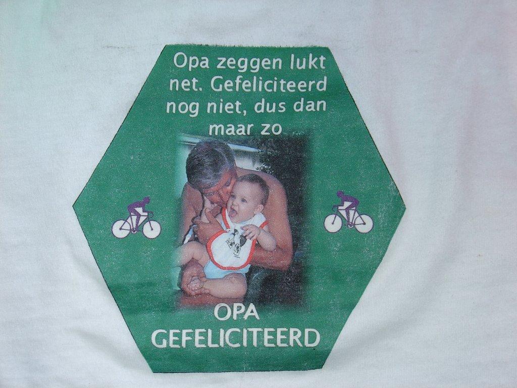 Pics photos opa jarig picture - Henny De Nanny Was Speciaal Vroeg Gekomen Om Mij Eten Te Geven