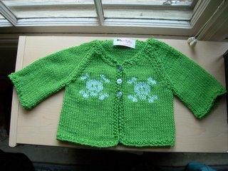 baby skull sweater