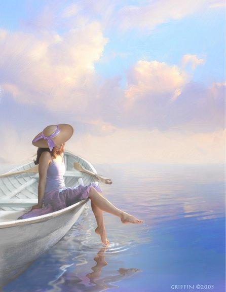приснилось море и лодка