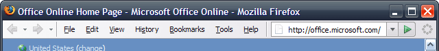 Firefox toolbar